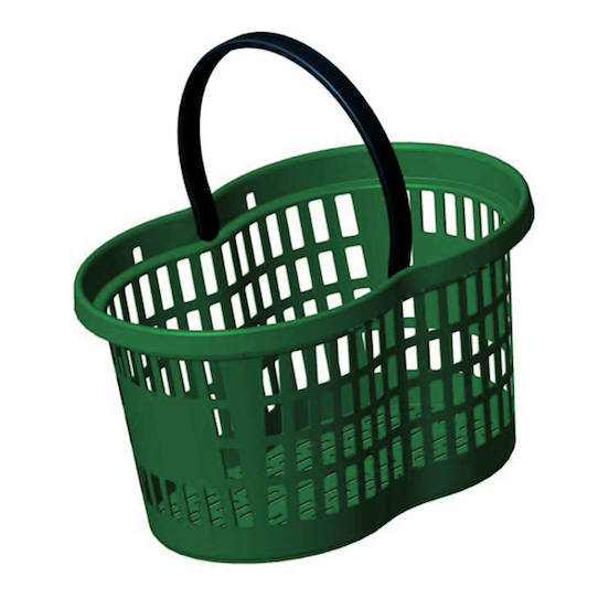 Flexi Basket 27 Lt – Green